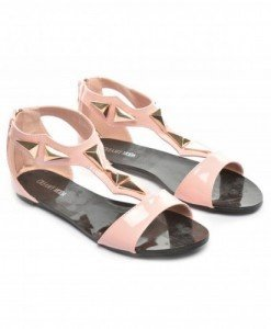 Sandale Velura Roz - Sandale - Sandale