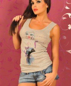 SiS47 Maieu cu Imprimeu - Sisley - Haine > Brands > Sisley