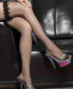 T43 Ciorapi sexy cu plasa si volanase - Ciorapi dama - Haine > Haine Femei > Ciorapi si manusi > Ciorapi dama