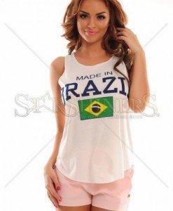 Top Brazilian Style White - Topuri -