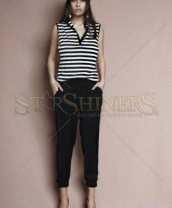 Top PrettyGirl Simple Lines Black - Topuri -