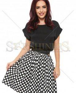 Top PrettyGirl Simplistic Black - Topuri -