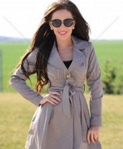 Trench LaDonna First Cover Brown - Trenciuri -