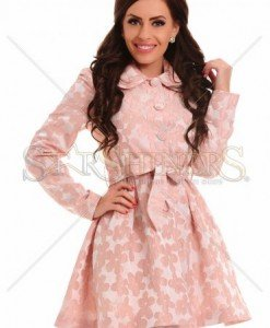 Trench LaDonna Lovely Choice Peach - Trenciuri -