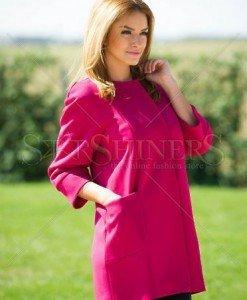 Trench LaDonna Short Cut Pink - Trenciuri -
