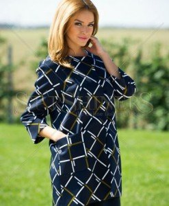 Trench LaDonna Utterly Amazing DarkBlue - Trenciuri -