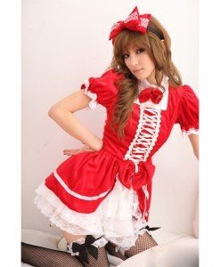 U218-3 Costum tematic menajera sexy - Menajera - Haine > Haine Femei > Costume Tematice > Menajera