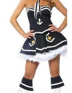 VV4 Costum tematic marinar - Armata - Marinar - Haine > Haine Femei > Costume Tematice > Armata - Marinar