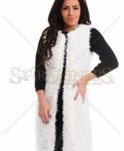Vesta MissQ Kind Touch White - Sacouri - Jachete -
