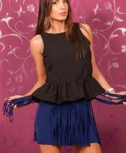 VrM16 Bluza cu Volanase - Vero Moda - Haine > Brands > Vero Moda