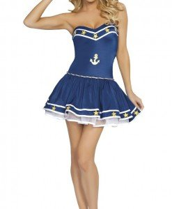 W124 Costum tematic marinar - Armata - Marinar - Haine > Haine Femei > Costume Tematice > Armata - Marinar