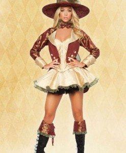 W86 Costum tematic pirat - Pirat - Haine > Haine Femei > Costume Tematice > Pirat