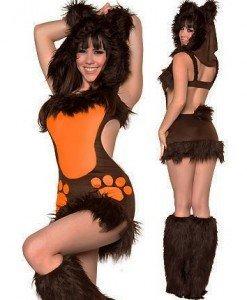 X131 Costum tematic ursulet - Animalute - Haine > Haine Femei > Costume Tematice > Animalute