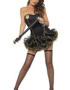 X134 Costum Halloween politista - Politista - Gangster - Haine > Haine Femei > Costume Tematice > Politista - Gangster