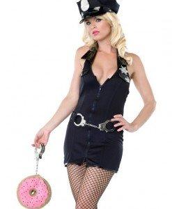 X138 Costum Halloween politista - Politista - Gangster - Haine > Haine Femei > Costume Tematice > Politista - Gangster