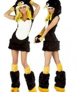 X140 Costum tematic pinguin - Animalute - Haine > Haine Femei > Costume Tematice > Animalute