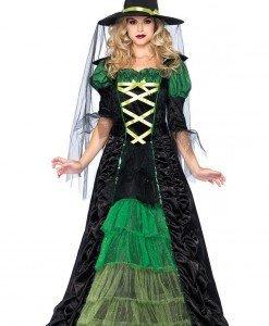 X307 Costum Halloween vrajitoare - Vrajitoare - Vampir - Haine > Haine Femei > Costume Tematice > Vrajitoare - Vampir