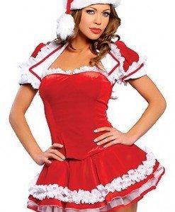 XM133 Costum tematic Craciunita - Costume de craciunita - Haine > Haine Femei > Costume Tematice > Costume de craciunita