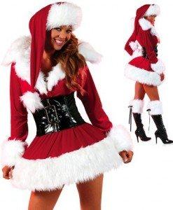XM19 Costum craciunita sexy - Costume de craciunita - Haine > Haine Femei > Costume Tematice > Costume de craciunita