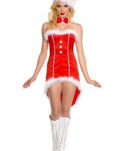 XM266 Costum craciunita sexy - Costume de craciunita - Haine > Haine Femei > Costume Tematice > Costume de craciunita