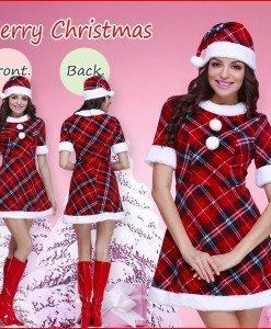 XM270 Costum tematic de Craciun - Costume de craciunita - Haine > Haine Femei > Costume Tematice > Costume de craciunita