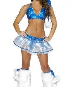 XM277 Costum tematic craciunita sexy - Costume de craciunita - Haine > Haine Femei > Costume Tematice > Costume de craciunita