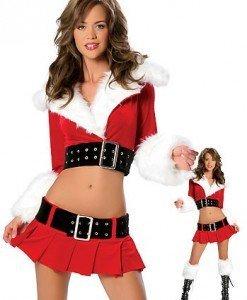 XM66 Costum Craciunita sexi - Costume de craciunita - Haine > Haine Femei > Costume Tematice > Costume de craciunita