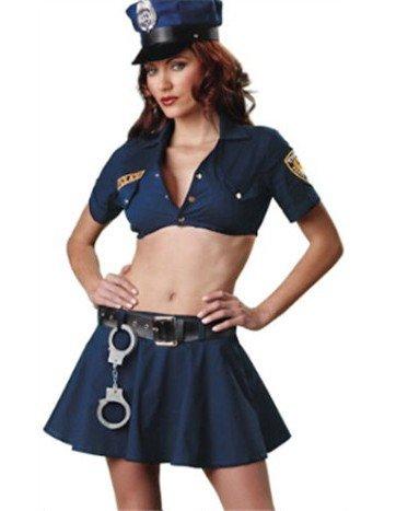 Y135 Costum Halloween politista – Politista – Gangster – Haine > Haine Femei > Costume Tematice > Politista – Gangster