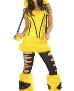 Y205 Costum Halloween animalut colorat - Animalute - Haine > Haine Femei > Costume Tematice > Animalute