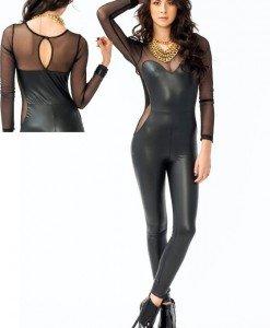 Y235 Salopeta Sexi Vinil - Salopete - Haine > Haine Femei > Costume latex si PVC > Salopete