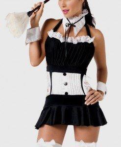 Y75 Costum tematic menajera - Menajera - Haine > Haine Femei > Costume Tematice > Menajera