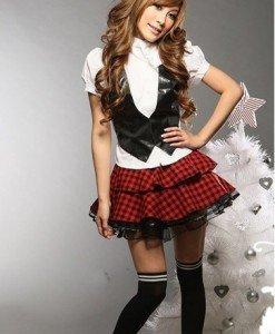 Z77 Costum tematic Halloween scolarita - Scolarita - Haine > Haine Femei > Costume Tematice > Scolarita