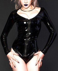 B385-1 Body sexi cu maneci lungi - Lenjerie body - Haine > Haine Femei > Lenjerie intima > Lenjerie body