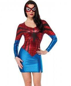 B420-43 Costum Halloween SpiderGirl - Super Eroi - Haine > Haine Femei > Costume Tematice > Super Eroi