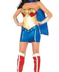 B421 Costum tematic Wonder Woman - Super Eroi - Haine > Haine Femei > Costume Tematice > Super Eroi