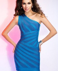 BAN289-4 Rochie scurta sexy bandage