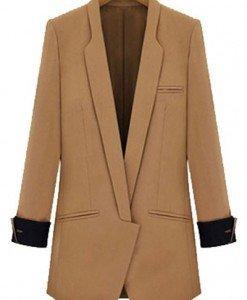 BL210-16 Jacheta de toamna tip palton - Geci si Paltoane - Haine > Haine Femei > Geci si Paltoane