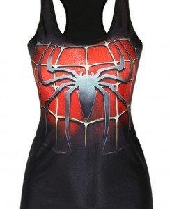 BL318-1 Maieu casual cu model SpiderMan - Altele - Haine > Haine Femei > Costume Tematice > Altele