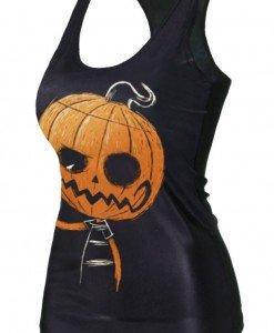 BL522 Maieu cu tematica dovleac Halloween - Altele - Haine > Haine Femei > Costume Tematice > Altele