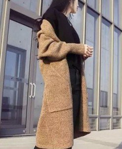 BL561-14 Cardigan treisfert tricotat
