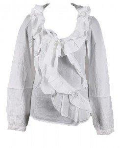 Bluza alba Sisley - Home > OUTLET -