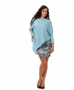 Bluza colt asimetrica Dunya - Home > Feel Free -