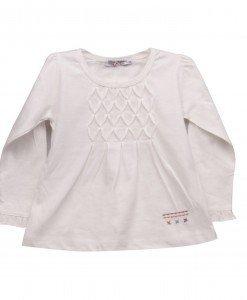 Bluza white Valentine - Home > Copii -
