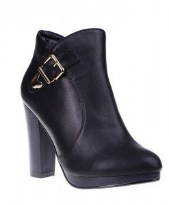 Botine Ariel negre/pu - Home > SOld OUT -