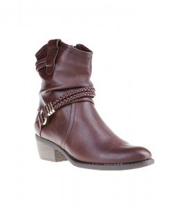 Botine Bunko dark brown - Home > Botine -