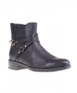 Botine Chieko black - Home > Botine -