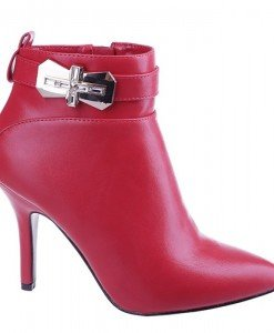 Botine Crosa red - Home > Botine -
