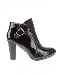 Botine office din croco lac Salma - Home > Botine -
