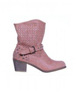 Botine pink Maya - Home > Botine -