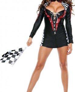 C420-1 Costum Halloween Race Diva - Sport - Racing - Haine > Haine Femei > Costume Tematice > Sport - Racing